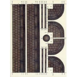 SIDEWALK ELEMENTS Brick Textured