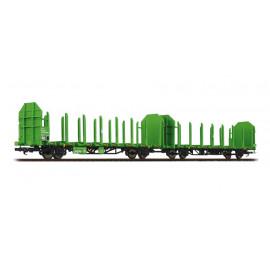 set due carri trasporto legname Laaps DB AG epoca VI