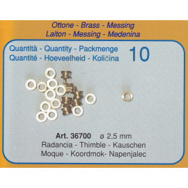 RANDACCIA IN OTTONE 2,5mm