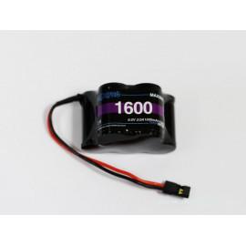 Batteria NIMH 6 Volt 1600 PIATTA