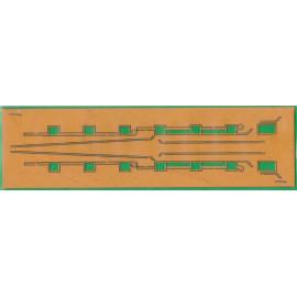 Tavola laser decori Victory 1/200