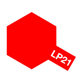 LP21 Italian red TAMIYA