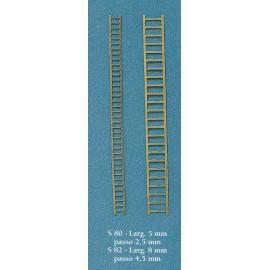 SCALETTA IN METALLO 22mm