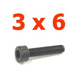 Viti cilindriche esagonali  2x6