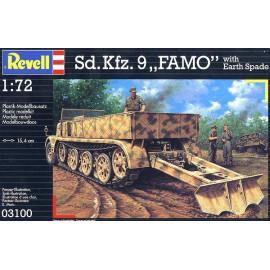 "Sd.Kfz. 9 ""Famo"" with Earth Spade"