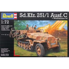 Sd.Kfz. 251/1 Ausf. C + Wurfrahmen 40