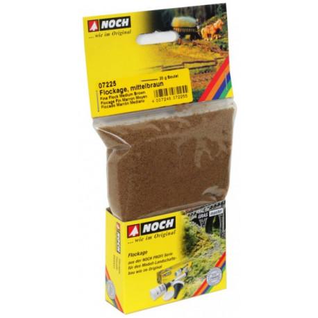 Flockage marrone chiaro, 20 g