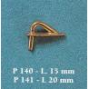 GALLOCCIA CON FORO 15mm