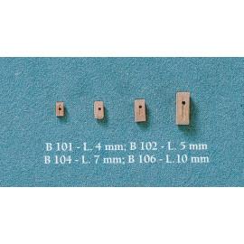 BOZZELLI IN LEGNO 1 FORO 7mm