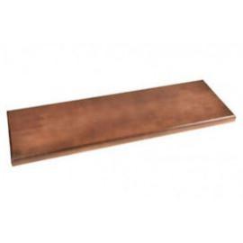 Basamento legno verniciato 80x25x3cm
