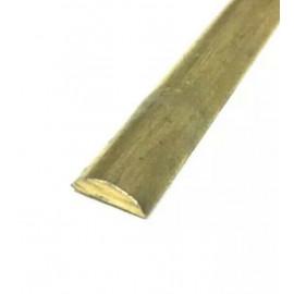 SEMITONDO OTTONE 2x1mm