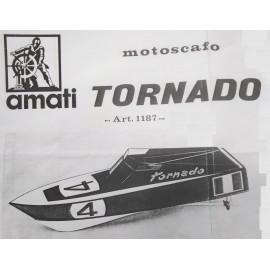 DISEGNO COSTRUTTIVO MOTOSCAFO TORNADO