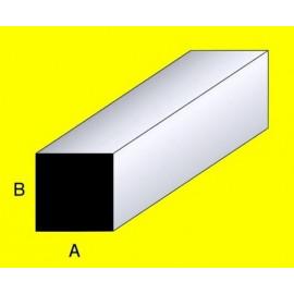 QUADRELLO IN OTTONE 3,5x3,5x1000