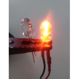 LED LUCE ARANCIONE 3mm
