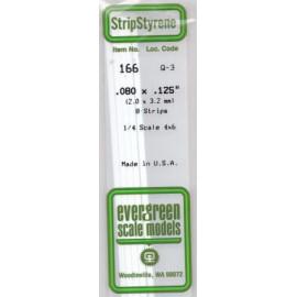 STRIPS POLISTIRENE 2x3,2mm