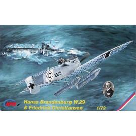 WW I Hansa Brandenburg W.29
