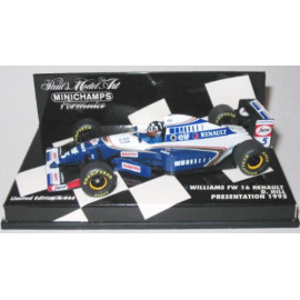 WILLIAMS FW 16 RENAULT - MINICHAMPS