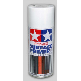 PRIMER SPRAY FINE L WHITE TAMIYA