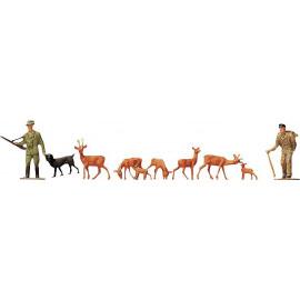 CACCIATORI E ANIMALI FALLER