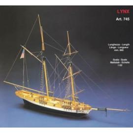 LYNX - Goletta del XIX sec.