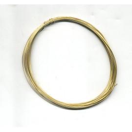FILO DI  OTTONE COTTO 0,5mm