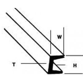 Profilato a T 2,4 x 2,4
