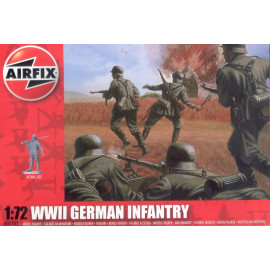 WWII German Infantry - AIRFIX