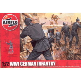 WWI German Infantry - AIRFIX