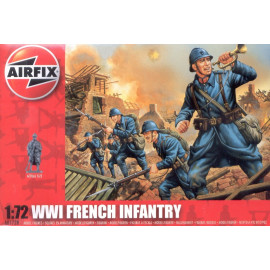 WWI French Infantry - AIRFIX