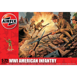WWI US Infantry - AIRFIX