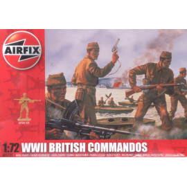 WWII British Commandos  - AIRFIX