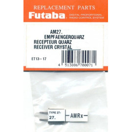 QUARZO TX AM27.125 FUTABA