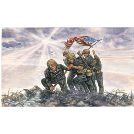 Marines Americani Iwo Jima - 6098  WWII