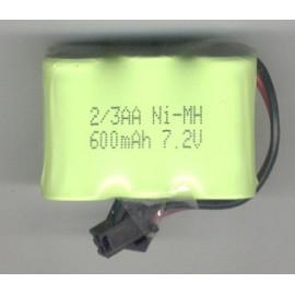BATTERIA 600 NiMH 7,2V