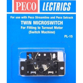 Micro switch per deviatoi - PEGO
