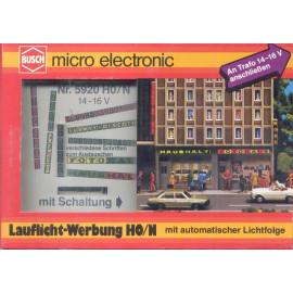 Set elettronico per deviazione stradale BUSCH