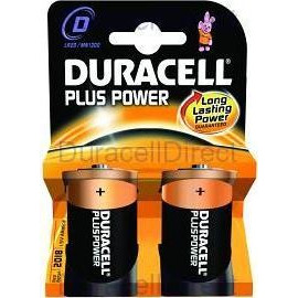 Duracell Plus Power C Size 2 Pack