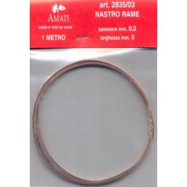 NASTRO RAME 0.2x3mm
