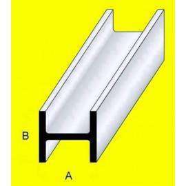 PROFILATO IN OTTONE SEZIONE A C 2x1