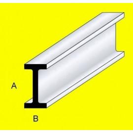 PROFILATO IN OTTONE SEZIONE A T 3x3