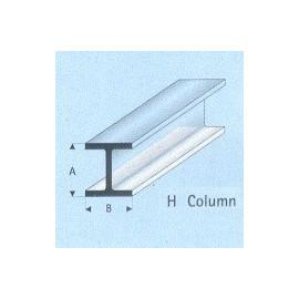 PROFILATO PLASTICA H 6x6x1000mm