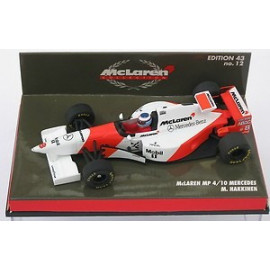 MC LAREN MP4/10  MERCEDES  - MINICHAMPS